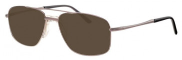 Visage VI405-54 Sunglasses in Gunmetal