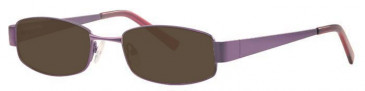 Visage VI398-50 Sunglasses in Purple