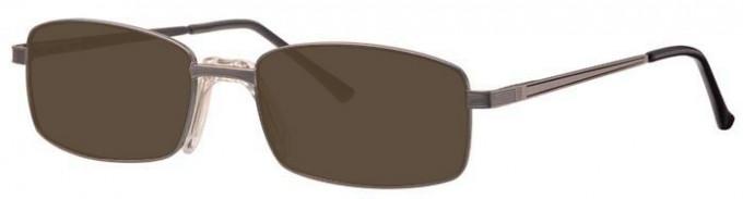 Visage VI395 Sunglasses in Gunmetal