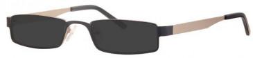 Visage VI389 Sunglasses in Black