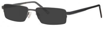 Visage VI379 Sunglasses in Gunmetal