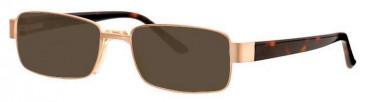 Visage VI377 Sunglasses in Gold