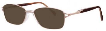 Visage VI359 Sunglasses in Gold