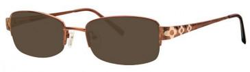 Visage VI357 Sunglasses in Bronze