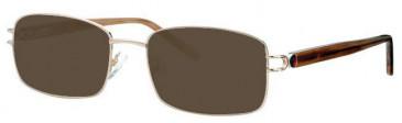 Visage VI345 Sunglasses in Gold