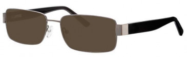 Visage VI343 Sunglasses in Gunmetal