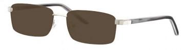 Visage VI326 Sunglasses in Silver