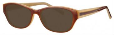 Visage VI425 Sunglasses in Brown