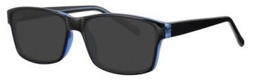 Visage VI424 Sunglasses in Black