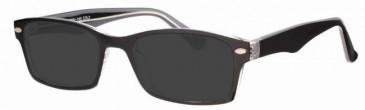 Visage VI402 Sunglasses in Black