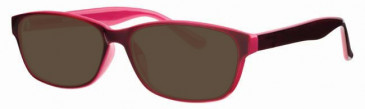 Visage VI401 Sunglasses in Wine