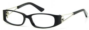 Ca Va CV11 Glasses in Black