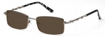 Ca Va CV19 Sunglasses in Medium Gunmetal