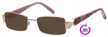 Ca Va CV18 Sunglasses in Pink