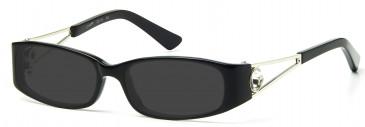 Ca Va CV11 Sunglasses in Black