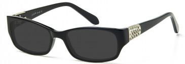 Ca Va CV08 Sunglasses in Black