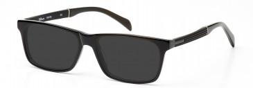 DiMarco DM126 Sunglasses in Black