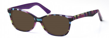 DiMarco DM121 Sunglasses in Purple