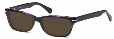 DiMarco DM108 Sunglasses in Purple