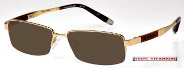 Nakamura NK19 Sunglasses in Gold