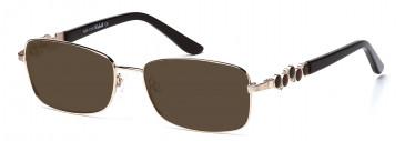 Rafaelle RAF105 Sunglasses in Gold