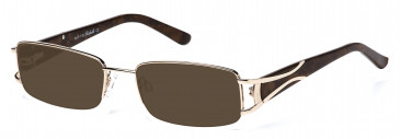 Rafaelle RAF106 Sunglasses in Gold