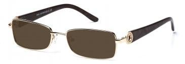Rafaelle RAF103 Sunglasses in Gold