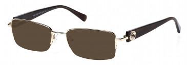 Rafaelle RAF102 Sunglasses in Gold
