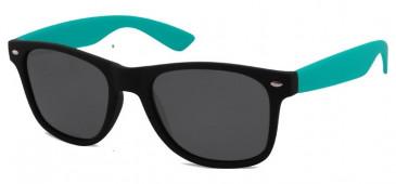 SFE Sunglasses in Black/Green