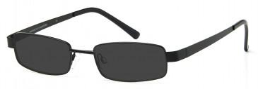 SFE-9203 Sunglasses in Black