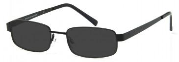 SFE-9204 Sunglasses in Black