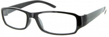 SFE Budget Reading Glasses in Black