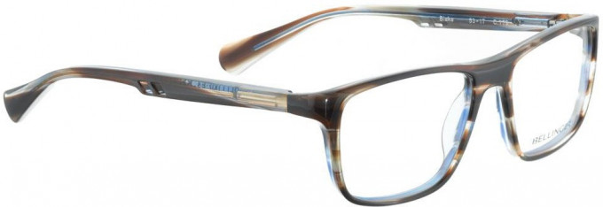 Bellinger BLAKE-779 Glasses in Matt Black Glitter/Blue