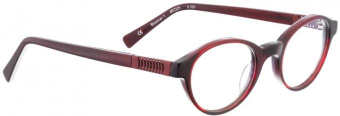 Bellinger BOUNCE-1-101 Glasses in Red/Black Pattern