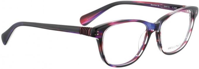 Bellinger BOUNCE-16-697 Glasses in Purple Pattern