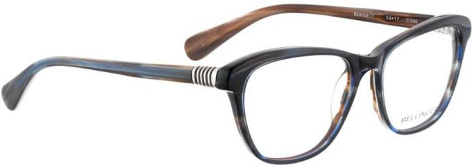 Bellinger BOUNCE-17-946 Glasses in Black/Blue Pattern