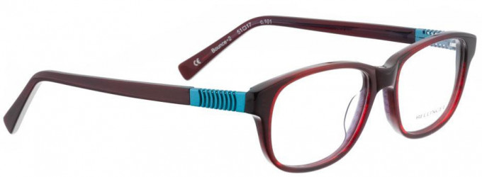 Bellinger BOUNCE-2-101 Glasses in Red/Black Pattern