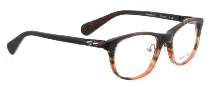 Bellinger BUMPER-1-221 Glasses in Brown Pattern
