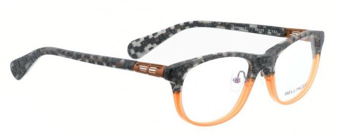 Bellinger BUMPER-1-755 Glasses in Grey Pattern/Orange