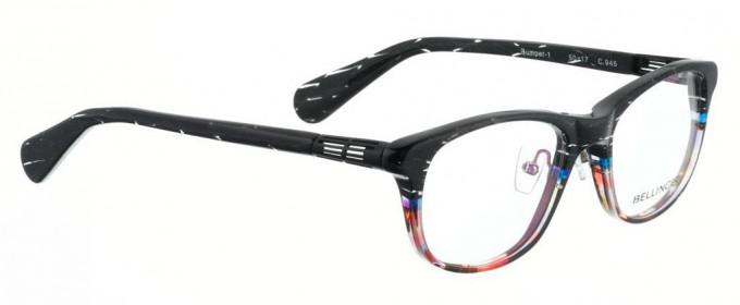 Bellinger BUMPER-1-945 Glasses in Black/Multi Color Pattern
