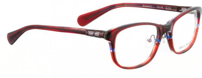 Bellinger BUMPER-2-118 Glasses in Red Pattern