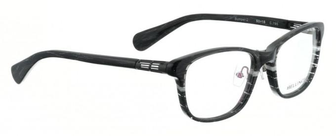 Bellinger BUMPER-2-795 Glasses in Black/White Pattern
