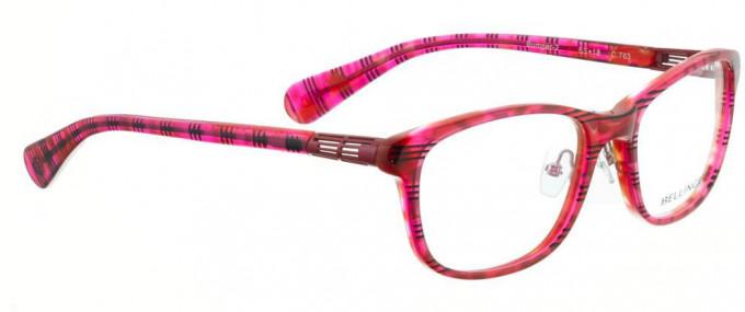 Bellinger BUMPER-2-763 Glasses in Pink/Black Stripes