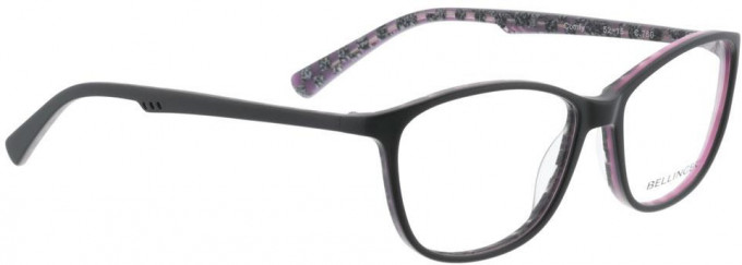 Bellinger COMFY-760 Glasses in Matt Grey/Purple Pattern