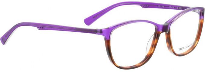 Bellinger COMFY-620 Glasses in Purple/Brown Pattern