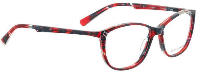 Bellinger COMFY-140 Glasses in Red/Blue