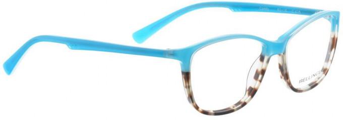 Bellinger COMFY-425 Glasses in Blue/Brown Pattern