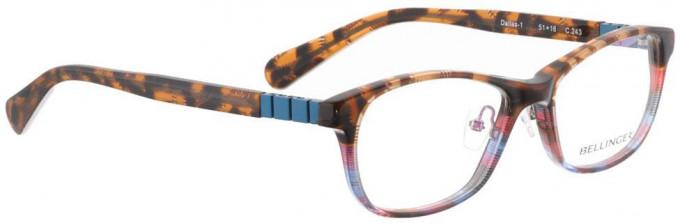 Bellinger DALLAS-1-243 Glasses in Brown Pattern