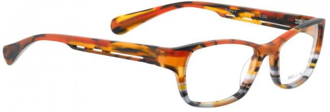 Bellinger DRACO-1-232 Glasses in Matt Layered Acetate Mix
