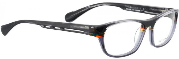 Bellinger DRACO-2-722 Glasses in Layered Aceate Mix